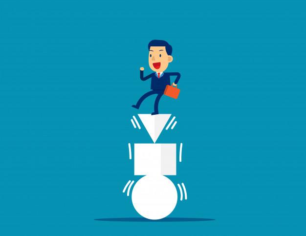 Gesprek over struikelblokken aangaan of blijven balanceren in je huidige situatie